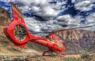 Grand Celebration Helicopter Landing Tour