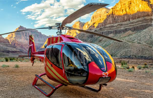 Sunset Grand Celebration Helicopter Landing Tour with Las Vegas Strip